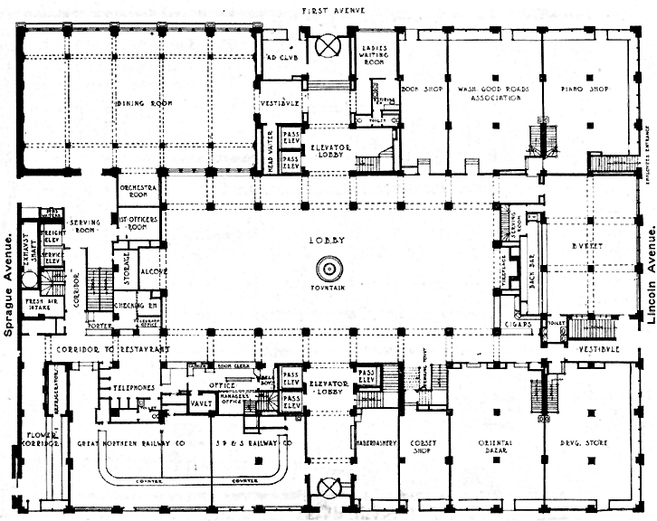Pics for hotel first floor plan for Ground floor vs first floor